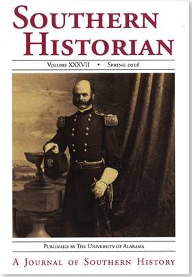 Southern Historian Vol 37 cover